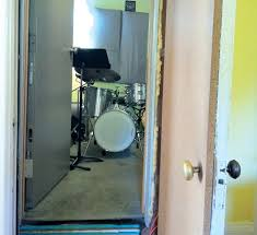 Drum Isolation Soundproof Room 2  YouTubeSoundproofing A Bedroom For Drums