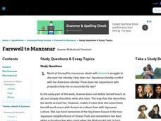 farewell to manzanar lesson plans worksheets reviewed by teachers farewell to manzanar study questions essay topics