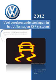 Veel Voorkomende Storingen In Het Volkswagen Esp Systeem Pdf