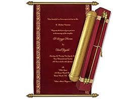Scroll Wedding Invitations Ingeniocity Co