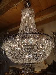 Kronleuchter Lüster Silber Bleikristallleuchter 33 Lichter