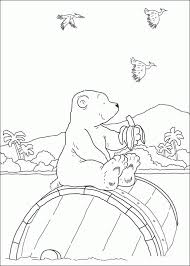 Small Picture The little polar bear Coloring Pages Coloringpages1001com