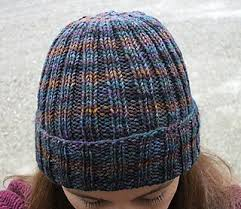 Free Knitted Hat Patterns On Circular Needles Fascinating Ravelry Ribbed Watchman's Hat Pattern By Channah Koppel