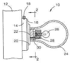 door handle parts diagram. Patent US6729740 Door Knob Night Light Google Patents Handle Parts Diagram L
