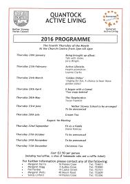 quantock active living nether stowey parish council next meeting