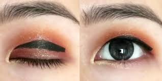 why floating eyeliner is the best trick for hooded eyelids how to apply eyeliner on monolids