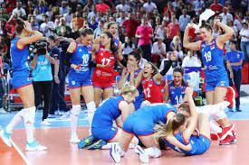 เซอร์เบีย เบียดเฉือน ตุรกี 3-2 ป้องแชมป์ยุโรปสองสมัยซ้อน