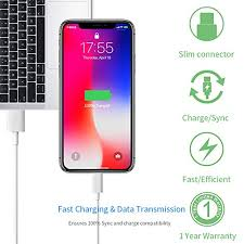 IPhone Lightning <b>Charger</b> Cable- [Apple MFi Certified] 3.3FT/1M ...