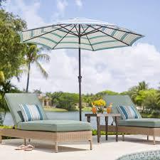 Modern Patio Furniture Umbrella 10 Feet O On Design