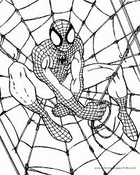 Small Picture Spiderman Coloring Pages On Coloring Book Inside Spiderman Color