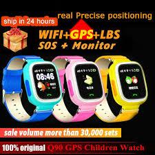 Q90 GPS Children kids <b>Smart Watch</b> Phone Position for Children ...
