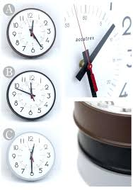 12 inch wall clocks made in instrument company 1 4 a 8 wall clock 8 inch