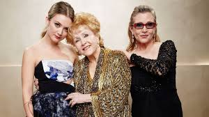 debbie reynolds and carrie fisher. Exellent Reynolds Billie Lourd Pays Tribute To Her Mother Carrie Fisher And Grandmother Debbie  Reynolds In Reynolds And R