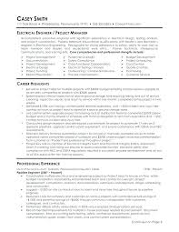 Electrical Engineering Sample Resumes Electrical Engineering Resume Template Metabots Co