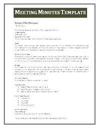 Meeting Summary Sample Minutes Example Template Woodnartstudio Co