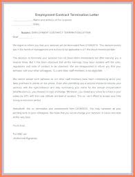 Samples Of Termination Letter – Hadenough