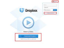 Dropbox A Free Online File Storage Account
