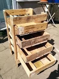 pallet box ideas wooden pallet storage box plans pallet wood projects pallet garden box ideas pallet