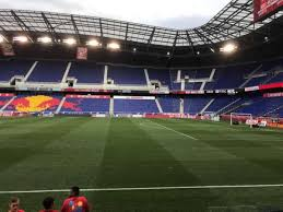 Ny Red Bulls Arena Seating Chart Red Bull Arena Section 108c Home Of New York Red Bulls