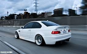 bmw m3 e46 stanced. Delighful Bmw Aggressively Fitted U0026 Stanced BMW M3 E46 8 To Bmw