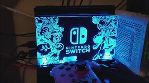 Nintendo Switch Dock Light Up Light Up Dock Shield Co2studio Nintendo Switch Panel Unboxing