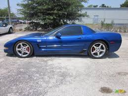 Electron Blue Metallic 2002 Chevrolet Corvette Z06 Exterior Photo ...