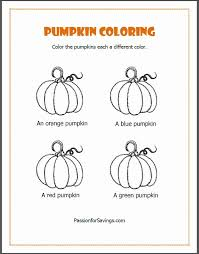 Small Picture Printable Pumpkin Coloring Pages Stunning Colorings Halloween
