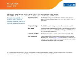 Ipsasb Proposed Strategy And Work Plan 2019-2023 | Ifac