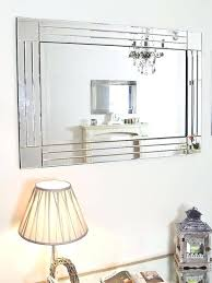 wall mirrors extra large bevelled edge wall mirror mirrors silver triple framed target