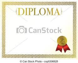 beautiful diploma ready to be customize vector search clip art  diploma vector