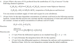 10 pts what is the mass of co2 produced from the metabolism of 2 25