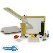 diy silk screen printing kit mclogan screen printing supplies heat press silhouette cameo