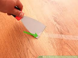 Image Titled Remove Adhesive From A Hardwood Floor Step 5