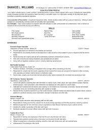 Mail Handler Resume Shanice Resume