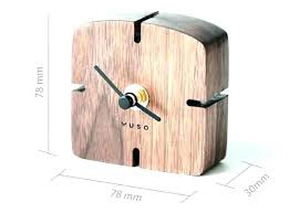 cool desk clocks cool desk clocks modern desk clock simple modern black walnut wood desk clock