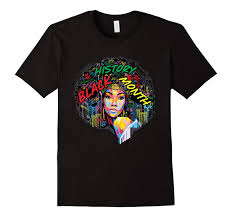 <b>Comical Shirt'S Short Zomer</b> O Neck Black History Month Afro Word ...