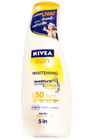 nivea whitening spf 50