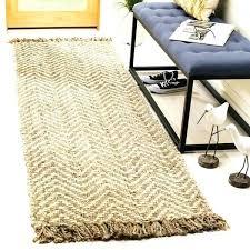 skinny mini chevron jute rug wool mocha hemp natural fiber hand woven off white brown gray