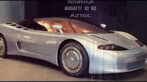 In 1989 he announced the return of bugatti. Bugatti Id 90 Concept 1990