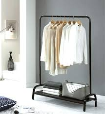 Wardrobe Coat Rack Extraordinary Wardrobe Racks Rolling Clothes Rack Drying In Garment Ikea Rigga