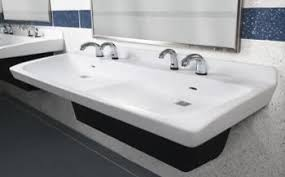 commercial bathroom sinks. Express Lavatory Systems Commercial Bathroom Sinks M