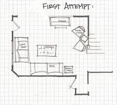 Room Layout Living Room Remodelaholic Living Room Part 3 Experimenting With Furniture