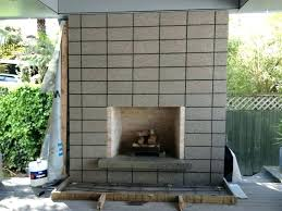 how to make an outdoor fireplace how to build an outdoor fireplace with cinder blocks outdoor