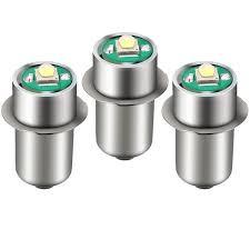 Big Offer #2fa9f - <b>3Pcs</b> P13.5s Pr2 Pr3 <b>3W</b> Fit For Maglite LED Bulb ...