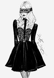 Hayden Williams Fashion Illustrations The Little Black Dress By