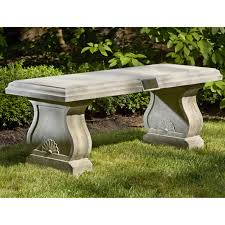 stone top benches popular diy garden benches you can build it yourself .  stone top benches ...