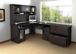 corner computer desk with hutch for home corner o25