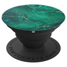 Design Popsocket Cheap Marbled Chic Green Golden Teal Marbled Design Popsockets Grip And Stand For Phones And Tablets