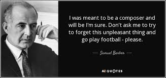 Barber Quotes Magnificent TOP 48 QUOTES BY SAMUEL BARBER AZ Quotes