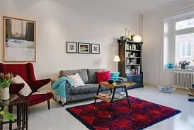 Amusing Red Apartment Ideas Inspiration Design Of Best